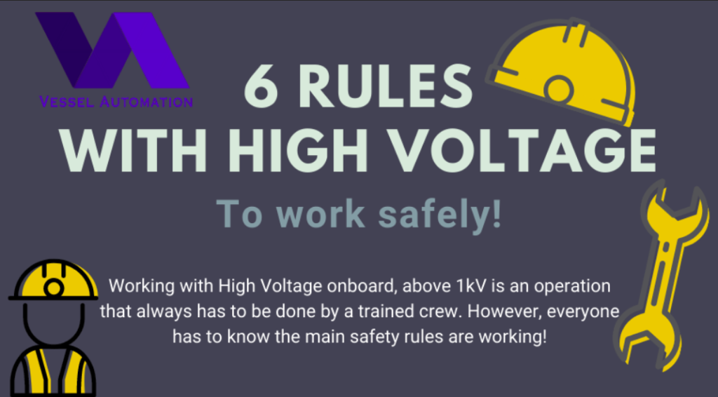 High Voltage Safety Rules!